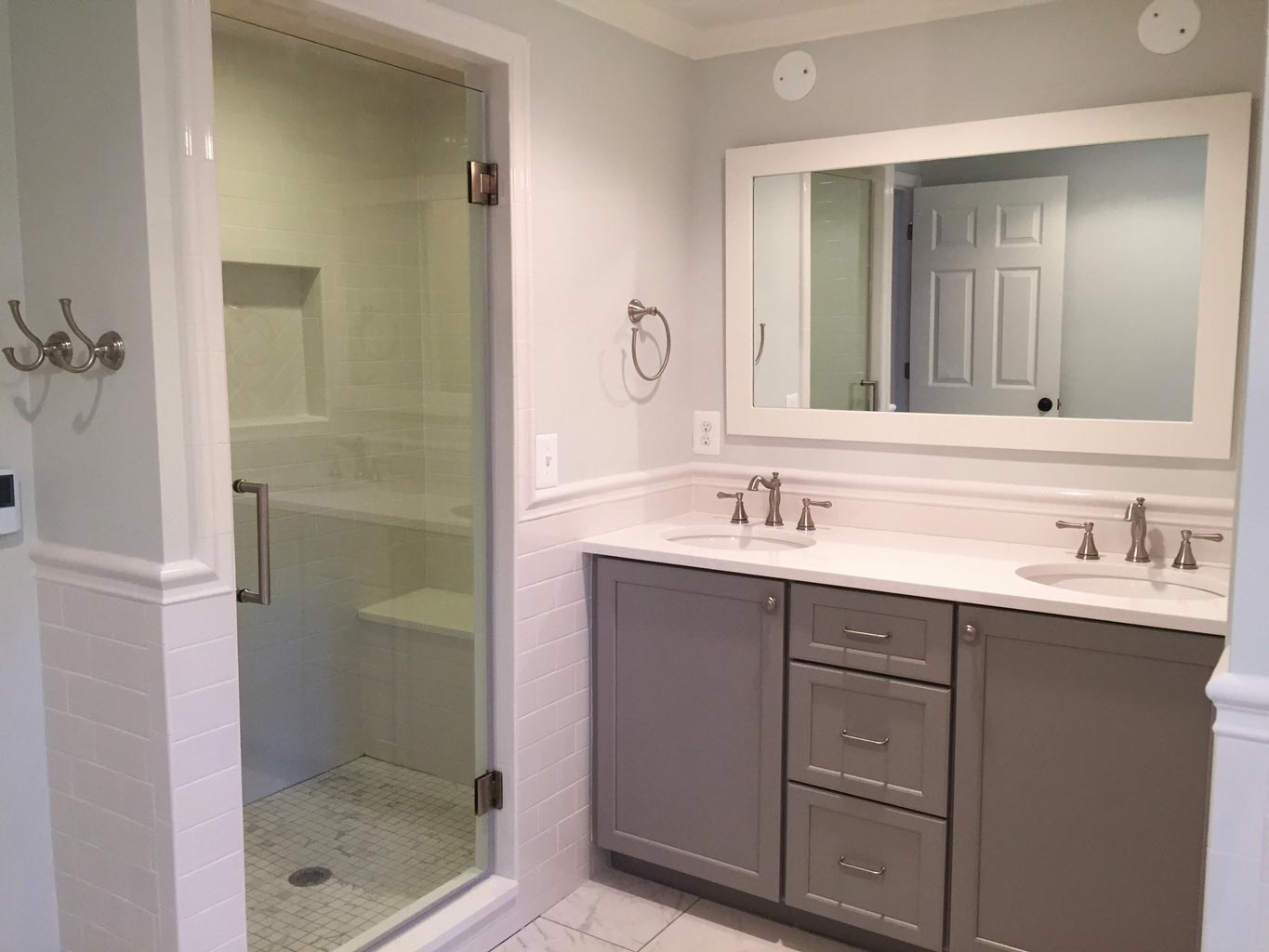 Bathroom remodel in vienna va bianco renovations Bathroom remodeling services