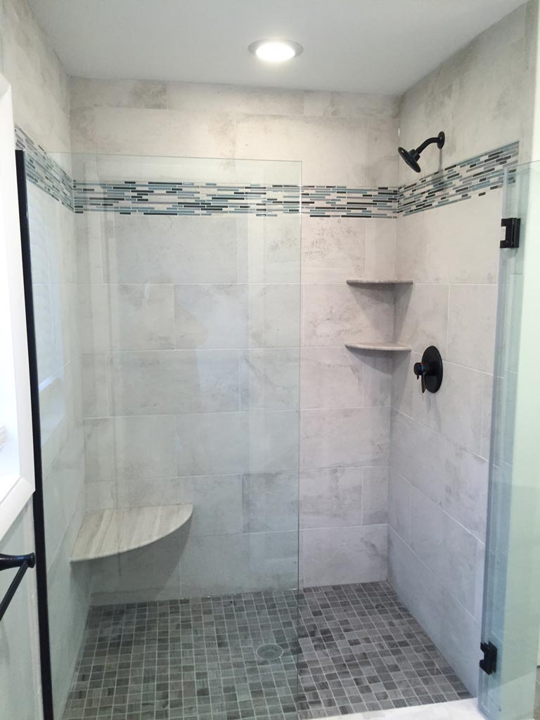 Master Bathroom in Herndon, VA - Bianco Renovations