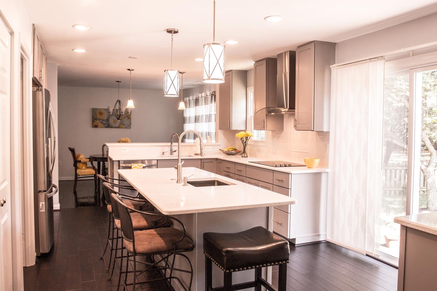 Kitchen Remodel In Springfield Va Bianco Renovations