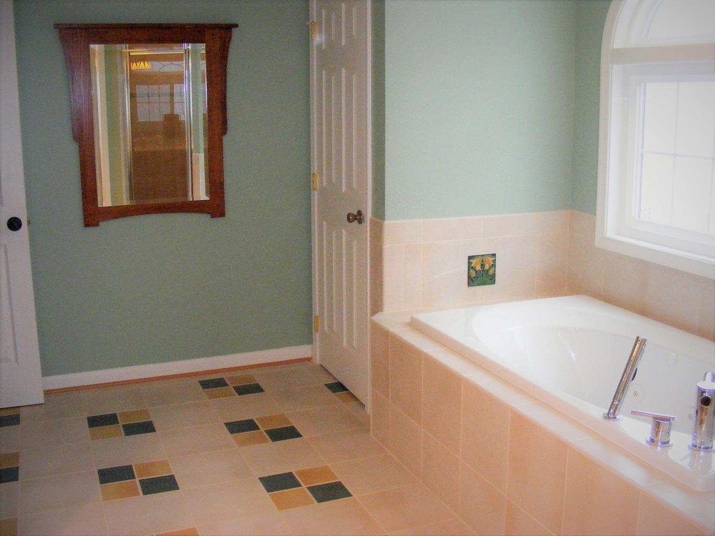 Master Bathroom In Fairfax Va Bianco Renovations