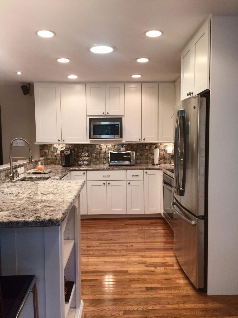 Completed Kitchen Remodel Fairfax Va Bianco Renovations
