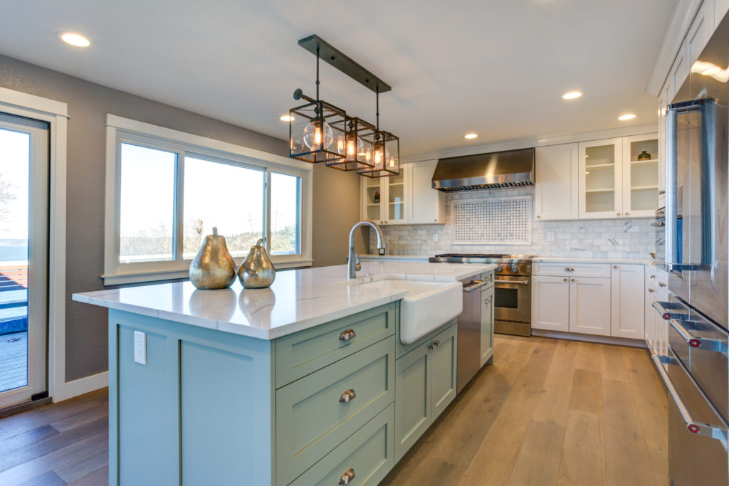Two Toned Kitchen Cabinets Get The